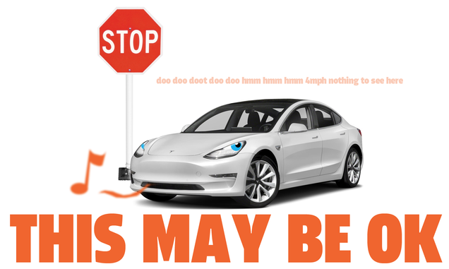 Why A Tesla Using FSD Running A Stop Sign Isn't Necessarily Terrible