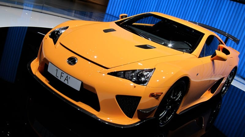 Illustration for article titled Lexus LFA Nürburgring Package is a special delivery for 'Ring rats