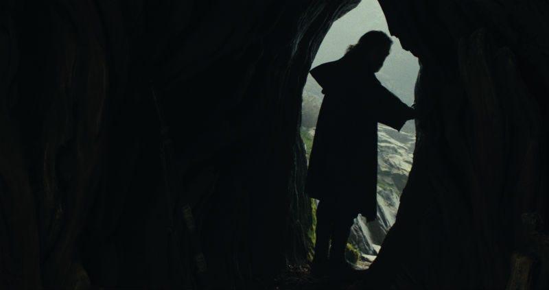 Luke Skywalker in The Last Jedi. Image: Disney