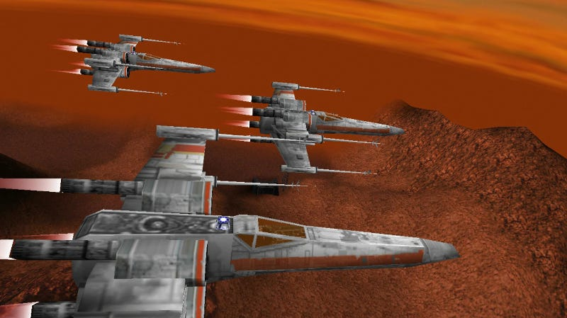Illustration for article titled Star Wars: Rogue Squadron Is Now On Steam