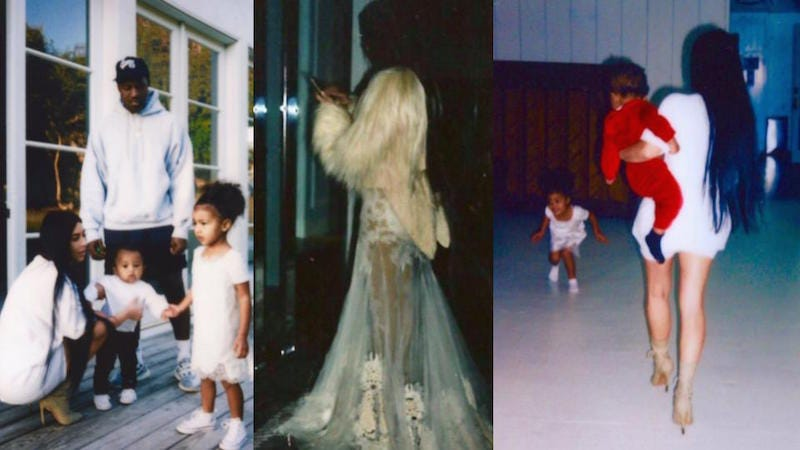 Images via Kim Kardashian West's Twitter.