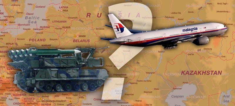 Illustration for article titled Could Russian Or Pro-Russian Forces Have Shot Down MH17?