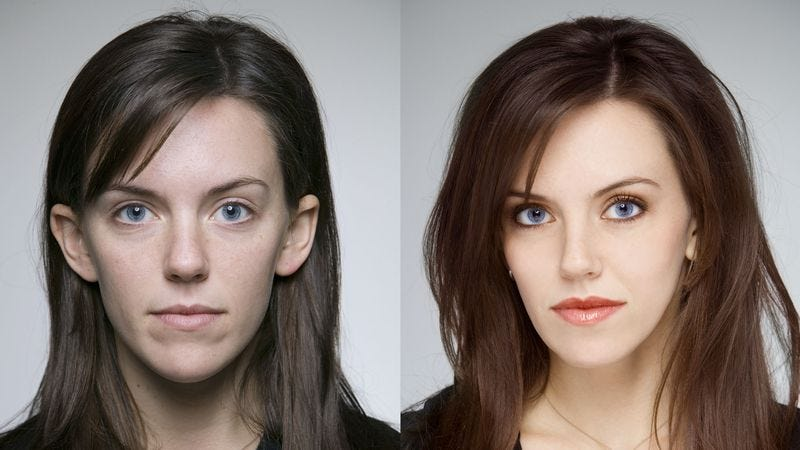 Illustration for article titled Before-And-After Airbrushing Image Alerts Fashion Industry To Evil Of Its Ways