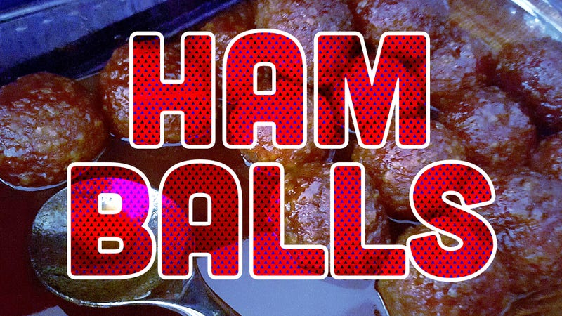 Illustration for article titled Two words: Ham balls