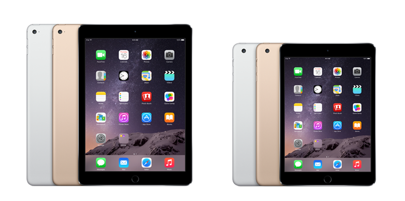iPad Air vs iPad Air 2 y Mini 2 vs Mini 3. ¿Qué cambia?