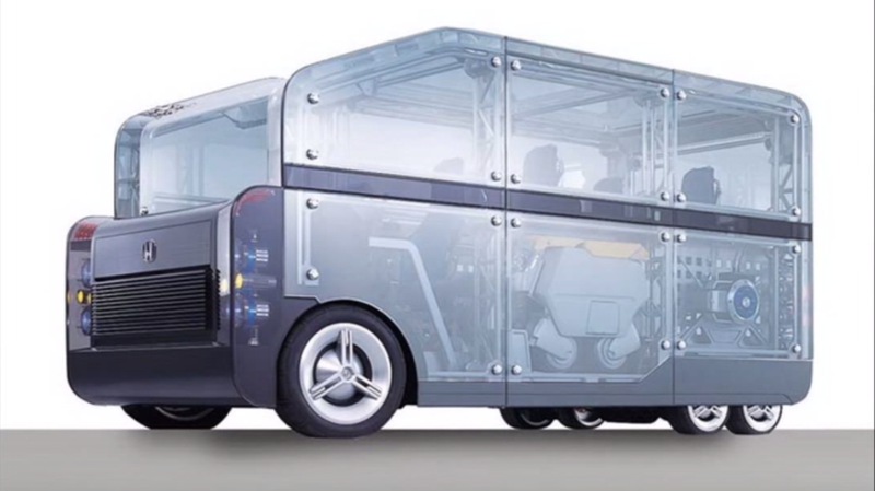 Illustration for article titled Honda's Unibox Concept Was the Ikea of Cars