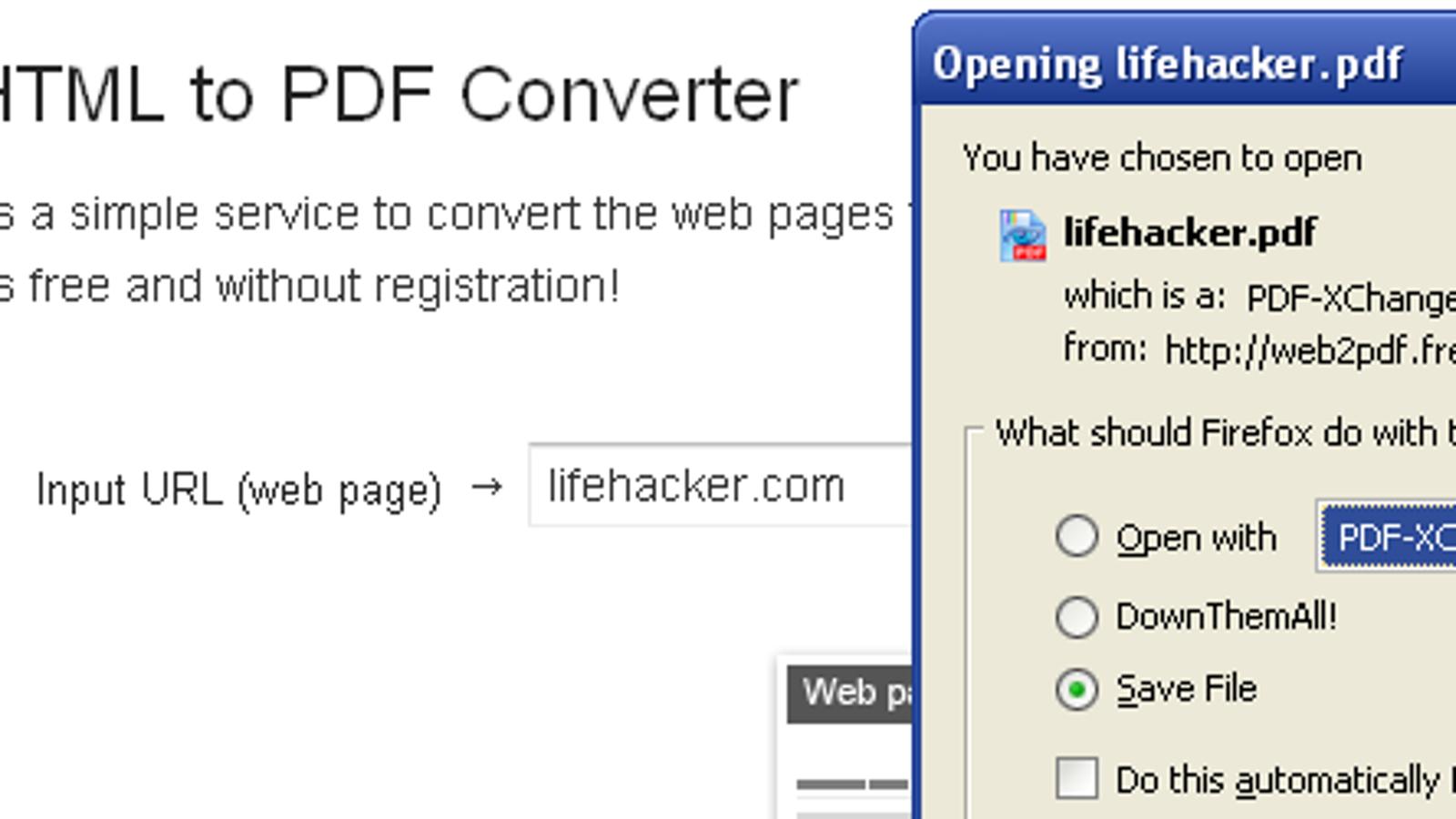 HTML to PDF Converter Turns Web Sites into PDF Files