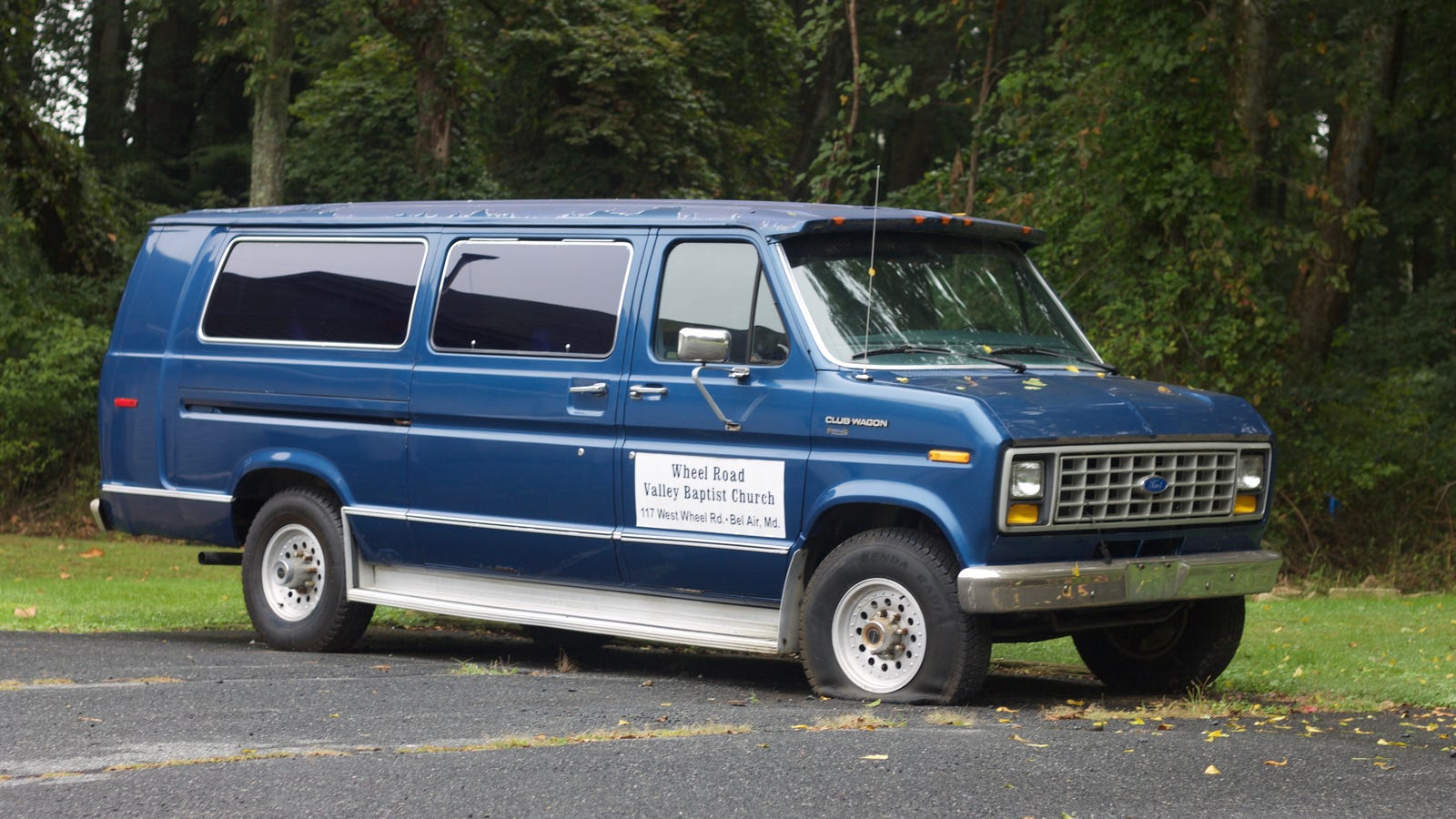 Church van of the week 1989 ford e 350 club wagon
