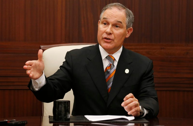 Oklahoma Attorney General Scott Pruitt. Image: AP Photo/Sue Ogrocki