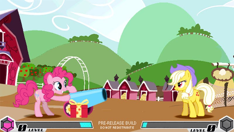 nixed my little pony fighting game gets help from friendship is