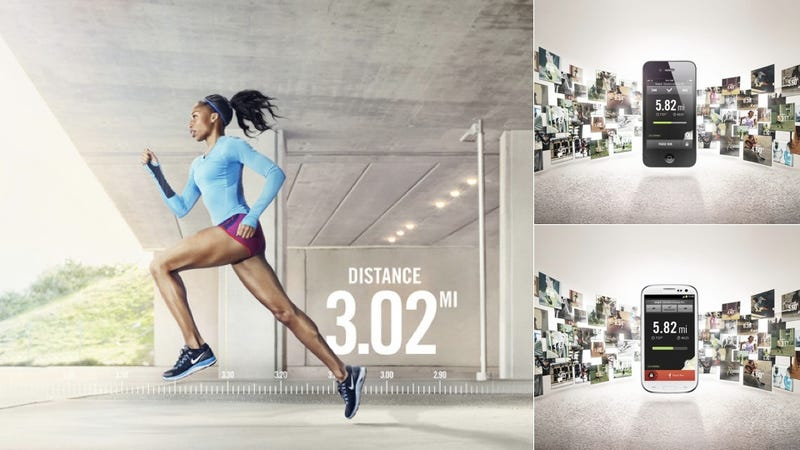 Illustration for article titled The New Nike+ GPS Running App Is Smarter, More Social, and Now Available for Android