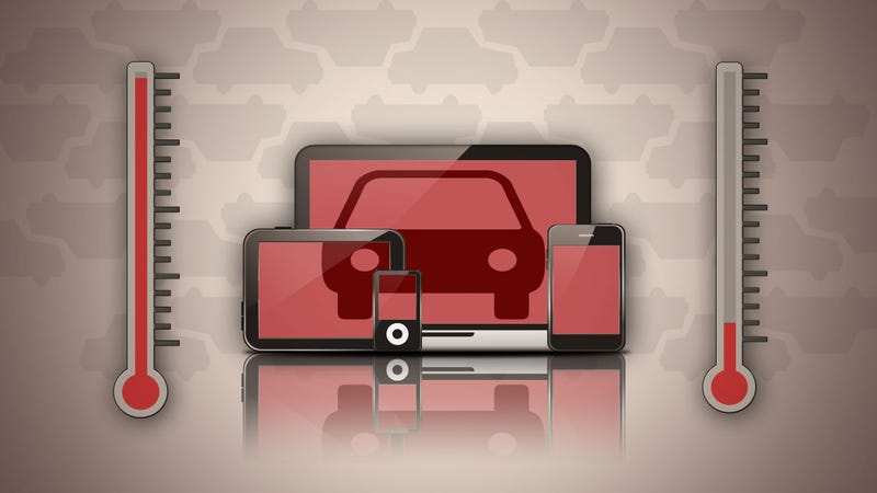 Illustration for article titled Can I Leave My Gadgets In a Cold or Hot Car?