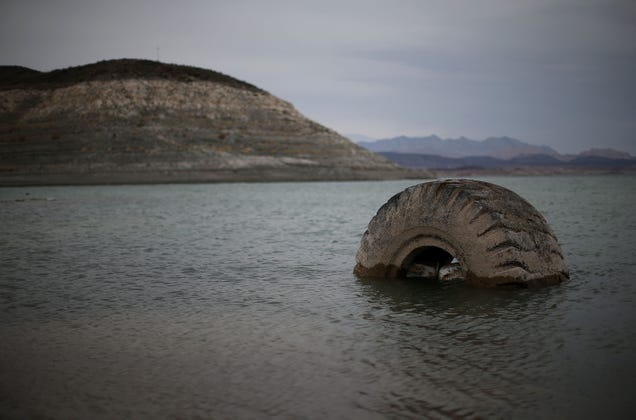 Lake Mead's Water Supply Has Dropped to the Lowest Level Since the Hoover Dam Was Built