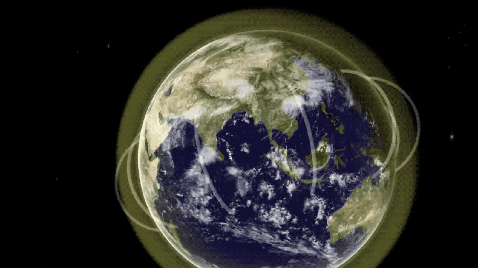 Científicos hallan por primera vez evidencias de gigantescos tubos de plasma sobre la atmósfera terrestre