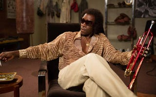 Don Cheadle as Miles Davis in Miles AheadSony Pictures