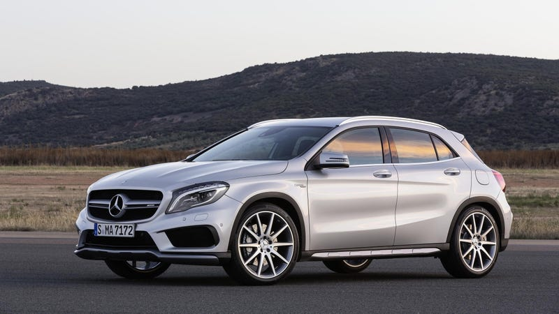Illustration for article titled 2015 Mercedes-Benz GLA45 AMG: This Is It