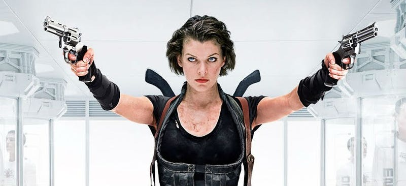 Milla Jovovich in Resident Evil: Afterlife. Image: Sony