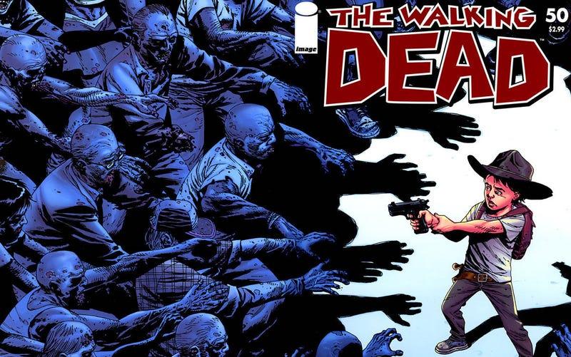 Illustration for article titled El cómic de The Walking Dead finaliza por sorpresa esta misma semana