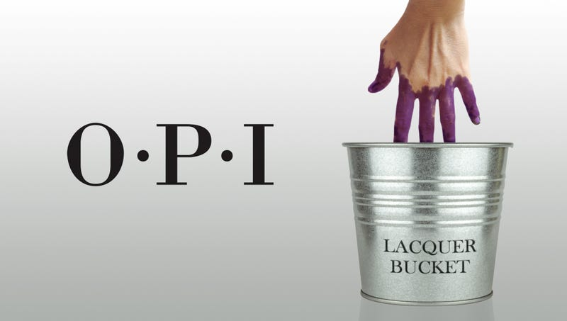 Illustration for article titled Saving Time: OPI Is Now Selling Gallon Buckets Of Nail Polish For People Who Can't Paint Their Nails For Shit And Might As Well Just Dunk Their Whole Hands In There And Get It Over With