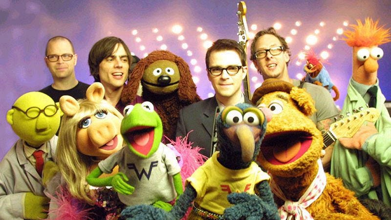 Weezer and The Muppets