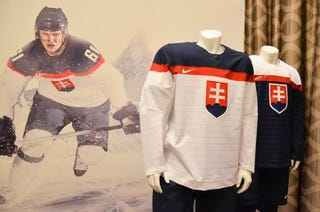 Illustration for article titled We Need To Steal This Idea From Slovakia's Olympic Hockey Jerseys