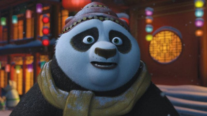 Illustration for article titled Kung Fu Panda Holiday Special