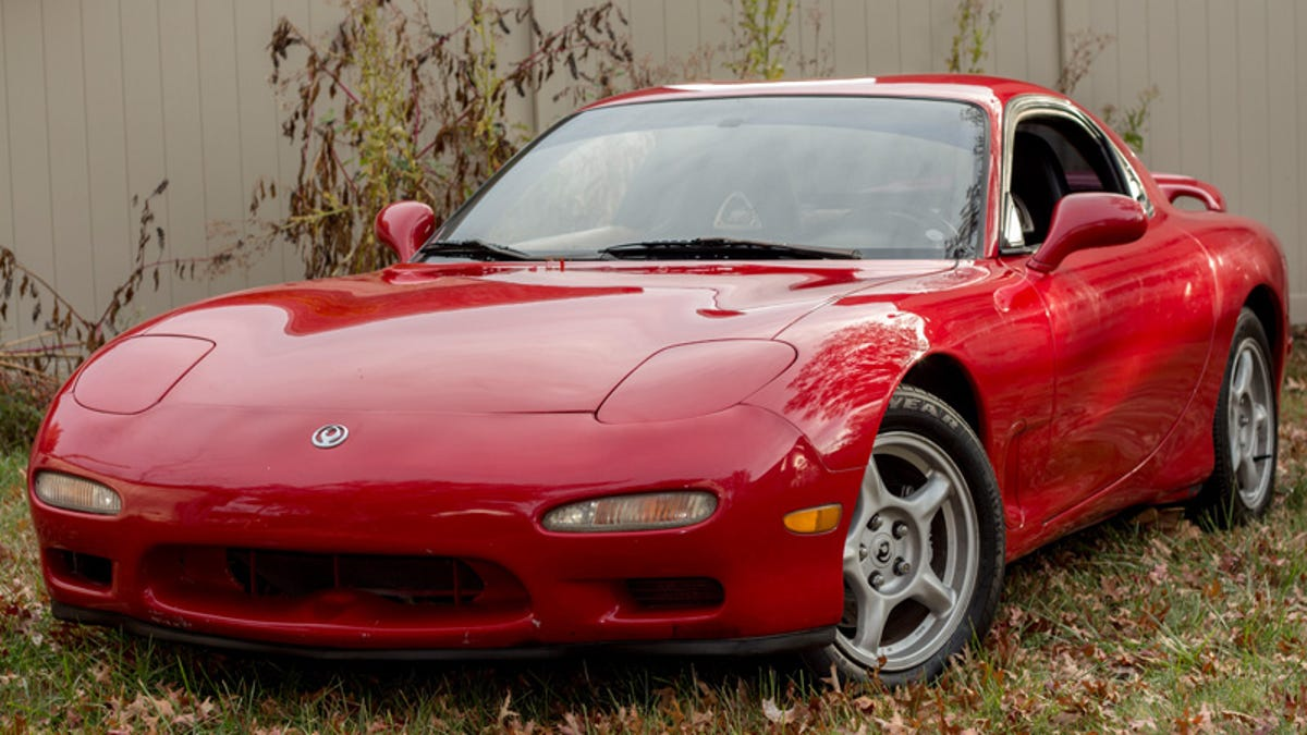 Here's How I Bought And Sold A Mazda RX-7 That Sat In A Yard