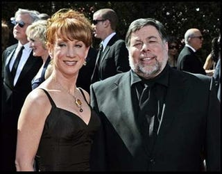 Illustration for article titled Important News! Kathy Griffin Never Slept With Steve Wozniak