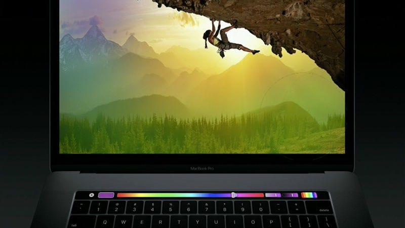 Illustration for article titled Por qué el panel del nuevo MacBook Pro es más útil que la pantalla táctil de cualquier laptop