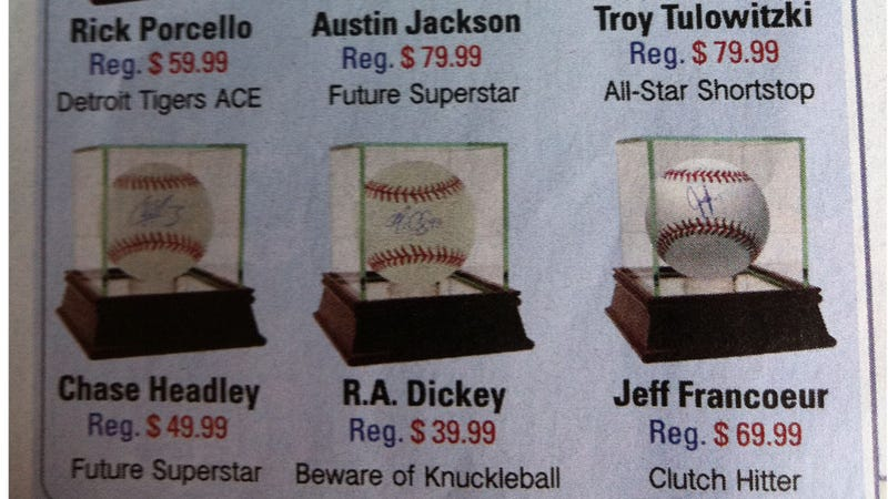 Illustration for article titled Behold: This Skymall Ad Is The Only Thing That Still Believes In Jeff Francoeur
