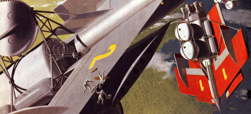 Illustration for article titled The Beautiful Art That Helped Inspire Space Travel