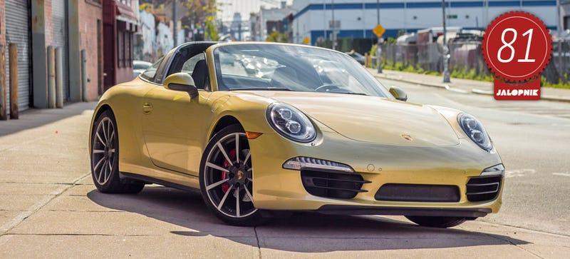 Illustration for article titled 2015 Porsche 911 Targa 4S: The Jalopnik Review