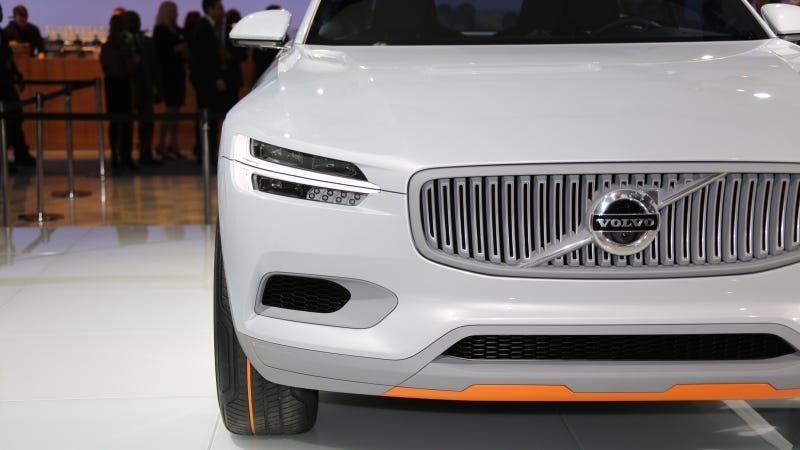 Illustration for article titled The Volvo Concept XC Coupe And Its Orange Bits Are Beautiful