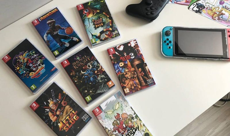 Fake Boxes For Downloadable Nintendo Switch Games