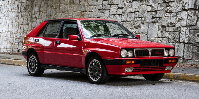 This Imported 1988 Lancia Delta HF Integrale Asks $23,900