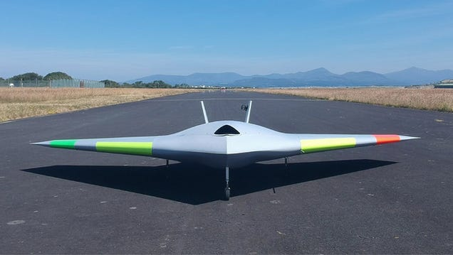 Experimental Plane Shows Supersonic Blasts of Air Could Simplify the Way We Pilot Aircraft