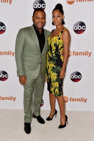 Anthony Anderson and Tracee Ellis Ross in 2015Alberto E. Rodriguez/Getty Images