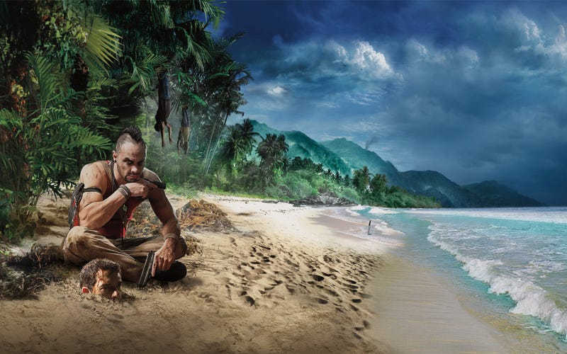 Illustration for article titled This Is What Far Cry 3's Vaas Was Originally Going To Look Like