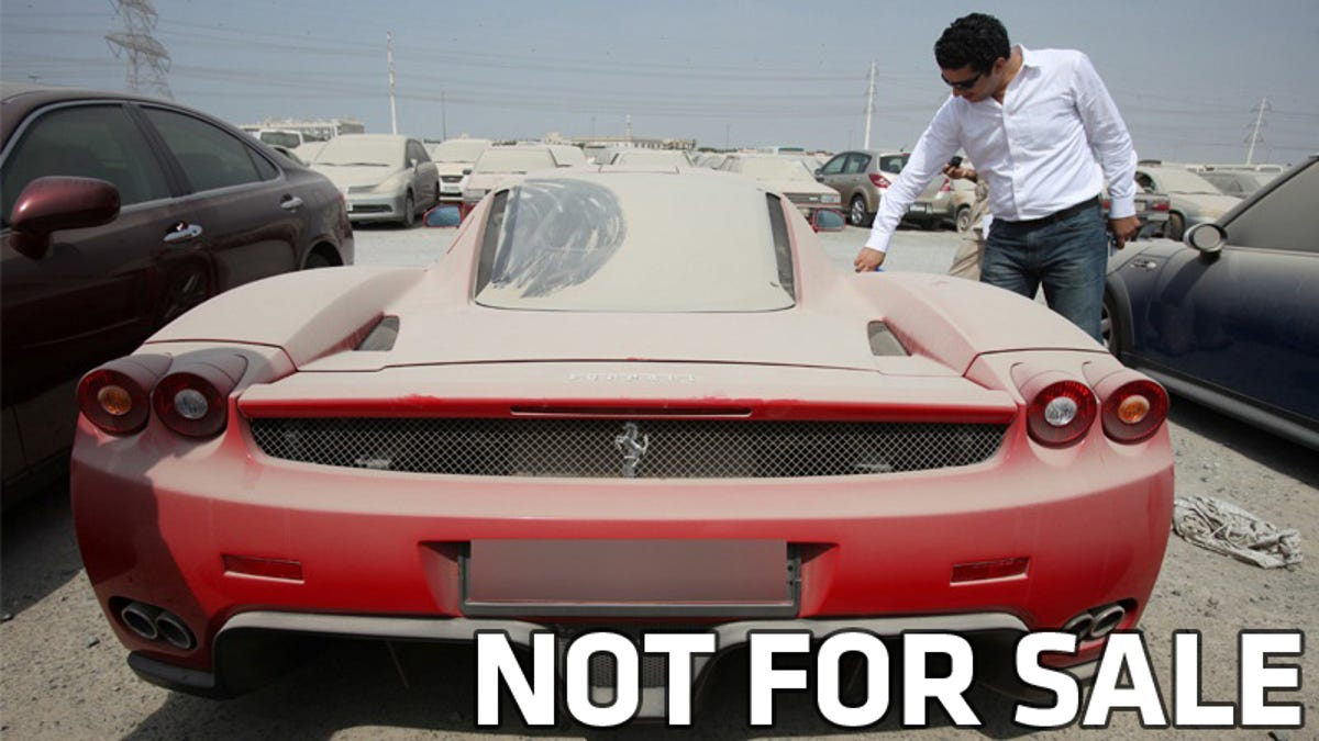 Police In Dubai Won T Actually Auction 1 6 Million Ferrari Enzo