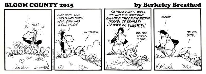 Illustration for article titled Bloom County Is Back!