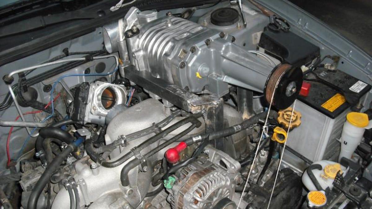 Garage Mechanic Ghetto-Rigs Subaru Impreza With Eaton
