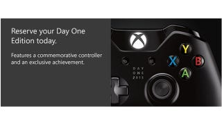 Illustration for article titled First Xbox One Consoles Come With Fancy Controllers, Achievement
