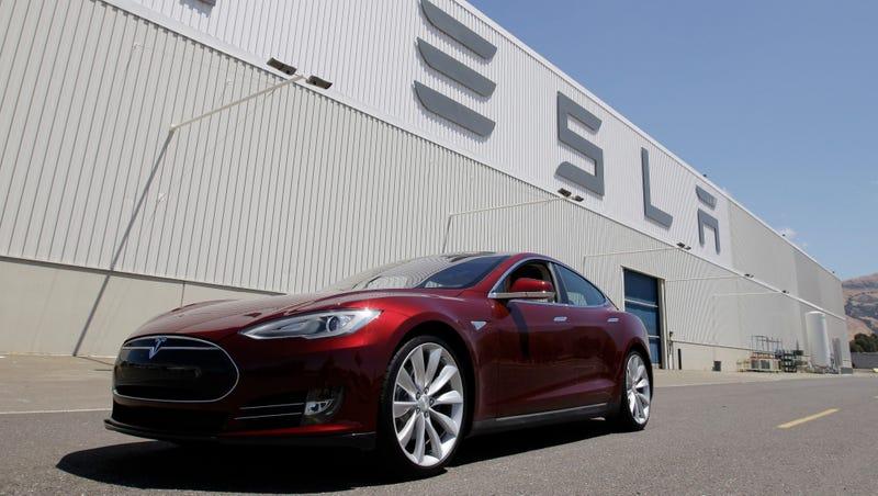 Un vehículo Tesla. AP