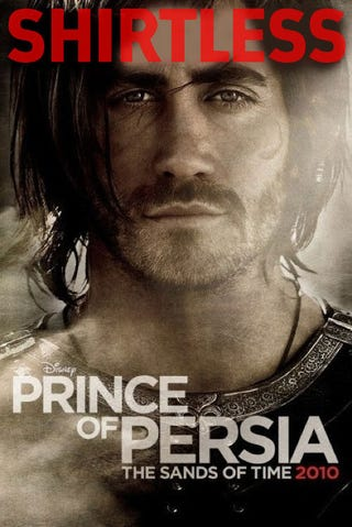Illustration for article titled The Prince Of Persia Movie Could Have Been Like This