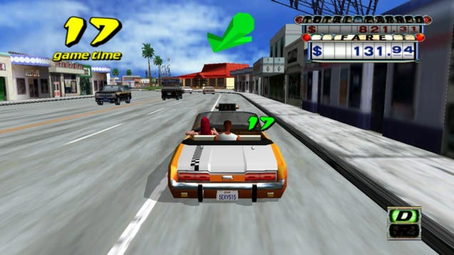 The original Crazy Taxi is a lost time capsule of the year 2000