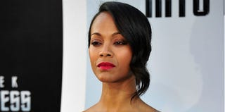Zoe Saldana (Frazer Harrison/Getty Images)