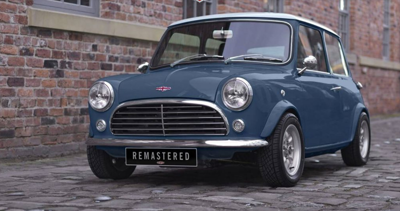 Illustration for article titled This Resto-Mod Mini Is Almost $90,000 Of Amazing