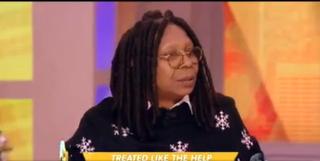 Whoopi Goldberg on The ViewABC Screenshot