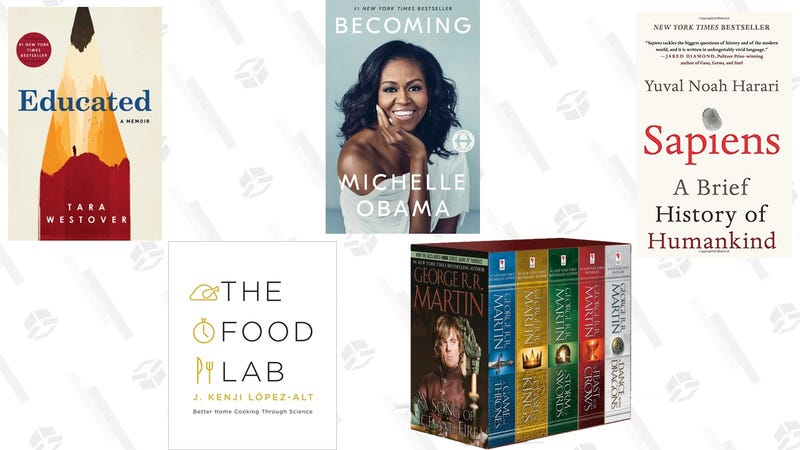 $5 off $15 Physical Book Purchase | Amazon | Promo code PRIMEBOOK19. Must be shipped and sold by Amazon.com
