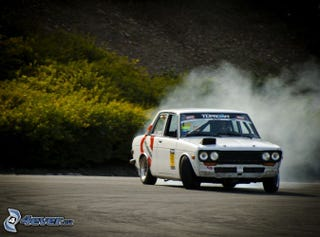 Illustration for article titled Drifting Datsun Donnerstag?